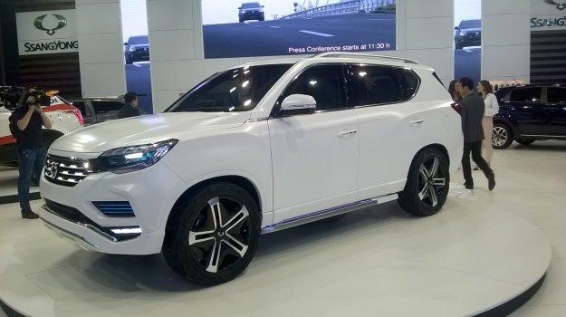 SsangYong LIV-2 nowy koncepcyjny koreański SUV
