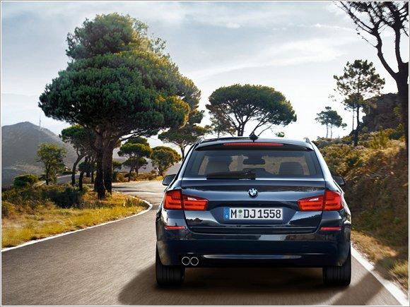 BMW Serii 5 Touring, wiejskie kombi?