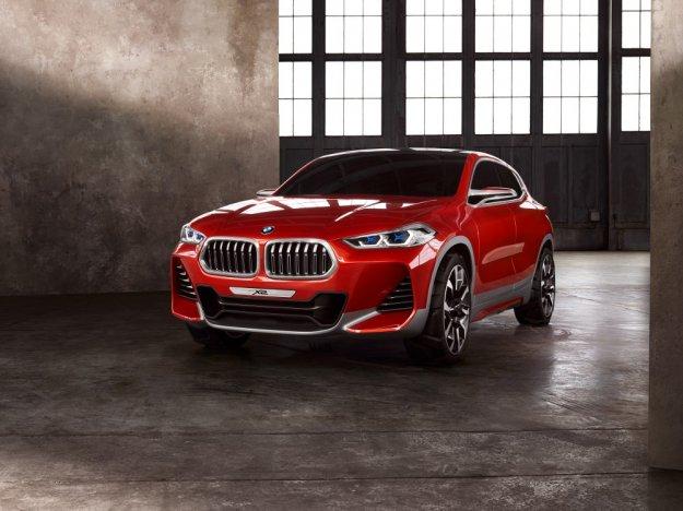 BMW zaprezentowała w Paryżu koncepcyjnego X2