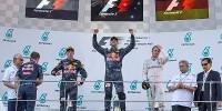 www.moj-samochod.pl - Artykuďż˝ - F1 Malezja - Red Bull górą i tylko jeden Mercedes na podium