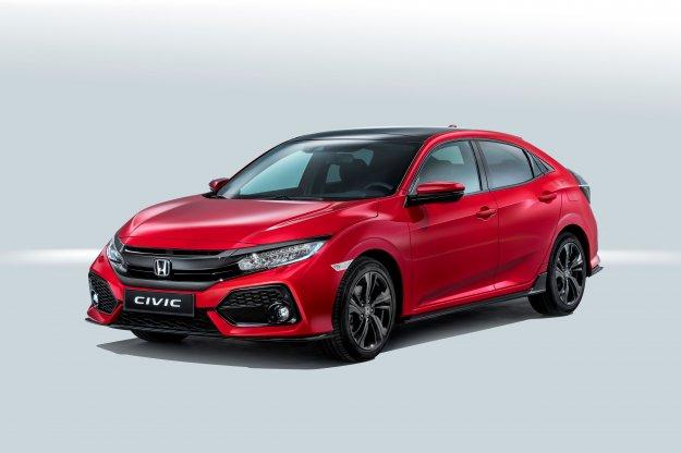 Honda zaprezentowała Europejską wersję modelu Civica