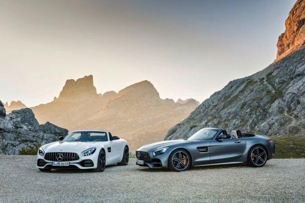 Mercedes GT Roadster w bardziej sportowej odmianie