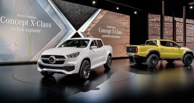 Mercedes i jego przeciętna wizja samochodu typu Pickup