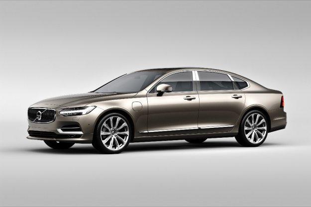Volvo zaprezentowało nowe odmiany modelu Volvo S90