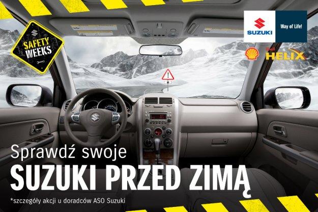 Z Suzuki bezpiecznie przez zimę