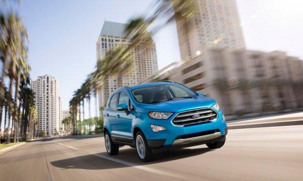 Ford EcoSport po lekkich zmianach