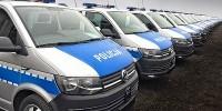 www.moj-samochod.pl - Artykuďż˝ - Polska Policja wzbogaciła się o 100 nowych Volkswagen Transporter T6