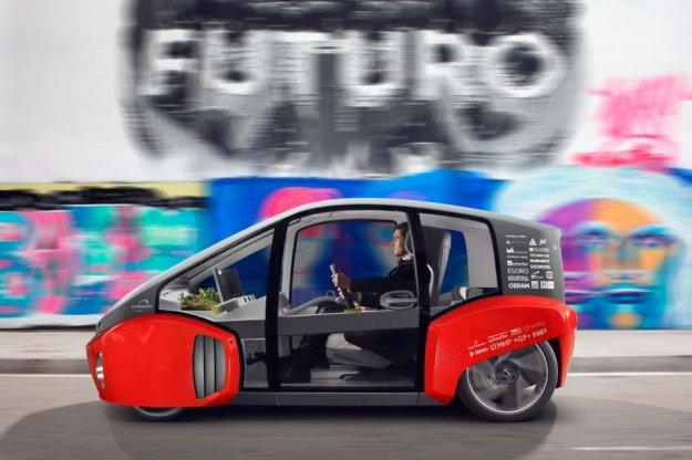 Rinspeed Oasis, wizja miejskiego samochodu