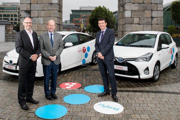 Toyota uruchomiła swój własny car-sharing