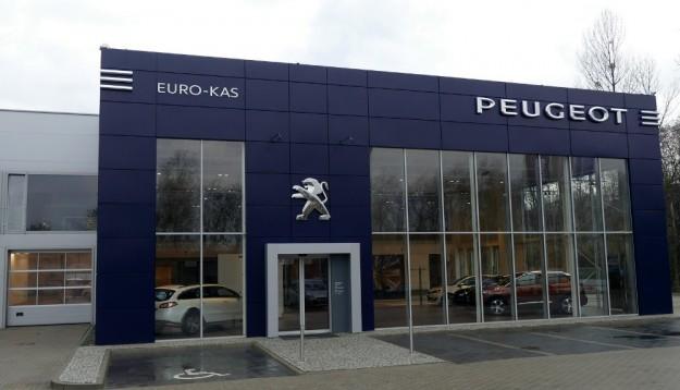 Nowy salon Peugeot Euro Kas w Gliwicach