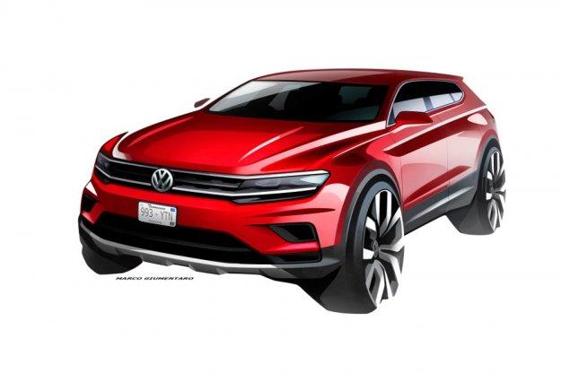 Volkswagen prezentuje szkice modelu Tiguan Allspace