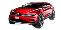 www.moj-samochod.pl - Artykuďż˝ - Volkswagen prezentuje szkice modelu Tiguan Allspace