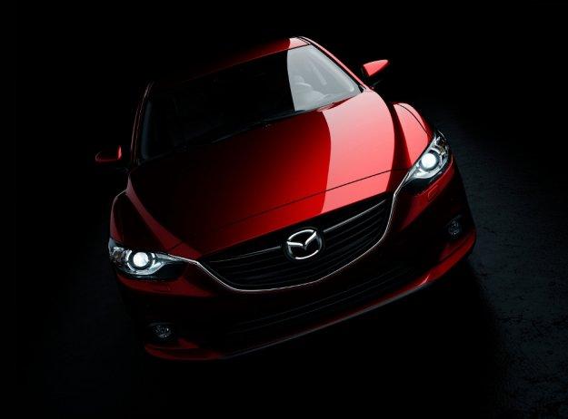 Mazda 6 - prezentacja na targach w Moskwie