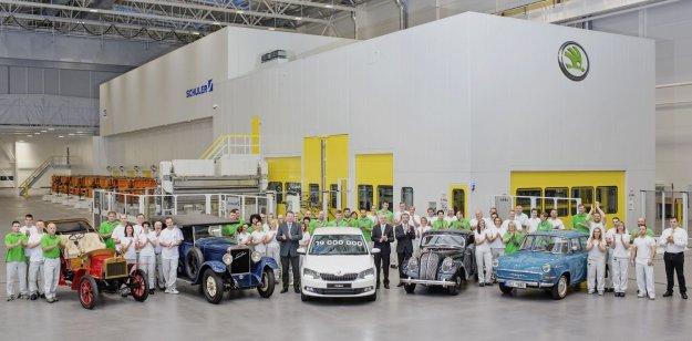 Skoda wyprodukowała 19 milionów samochodów