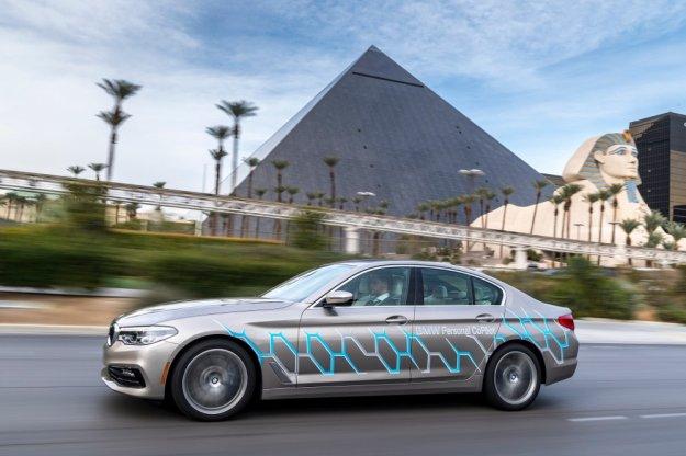 BMW na targach CES 2017