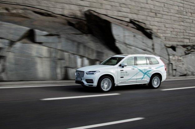 Volvo rozpoczyna swój wielki test na publicznych ulicach