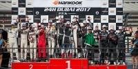 www.moj-samochod.pl - Artykuďż˝ - Dobry start Porsche w sezon wyścigowy podczas pierwszego 24h wyścigu