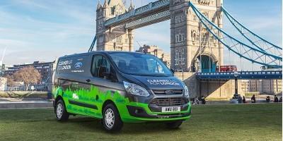 Ford Transit Custom PHEV będzie testowany w Londynie
