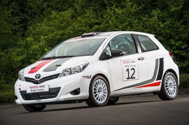 Usportowiona Toyota Yaris R1A - powrót do rajdów