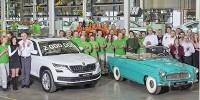 www.moj-samochod.pl - Artykuďż˝ - Skoda Kodiaq dwumilionowym samochodem zakładu Kvasinach