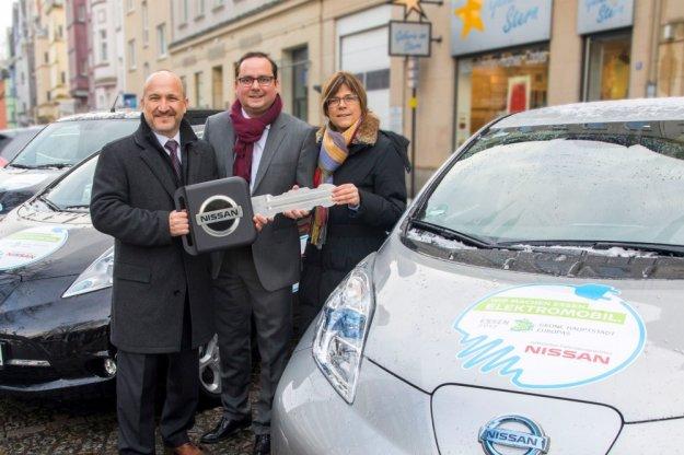 Nissan nowym partnerem Europejskiej Zielonej stolicy