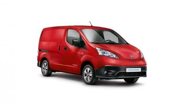 Nissan e-NV200 najlepiej sprzedający się elektryczny Van