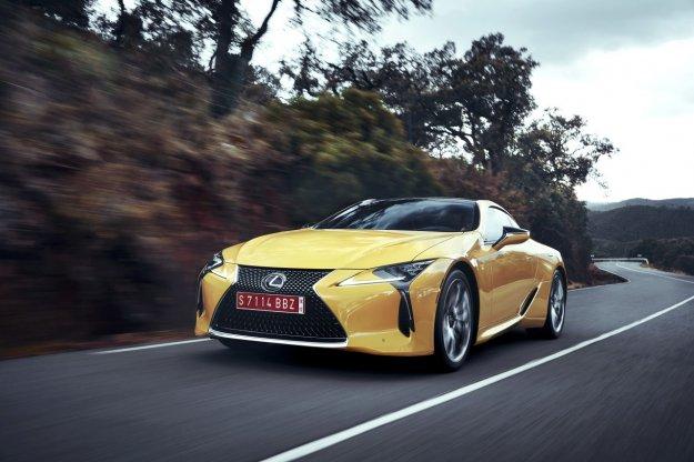 Rodzina modeli Lexus z wersją F zostanie poszerzona o LC F