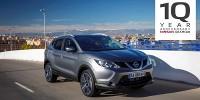 www.moj-samochod.pl - Artykuďż˝ - Nissan Qashqai lider crossoverów obchodzi 10 urodziny
