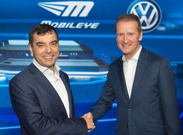 Volkswagen i Mobileye łączą siły