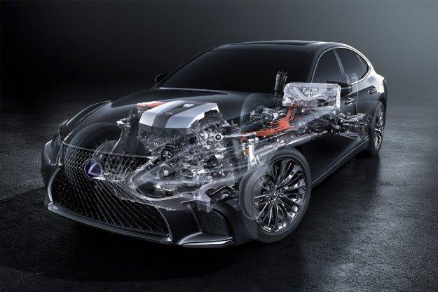 Lexus zastosuje kilkustopniowy system hybrydowy w modelu Lexus LS 500h