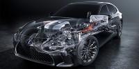 www.moj-samochod.pl - Artykuďż˝ - Lexus zastosuje kilkustopniowy system hybrydowy w modelu Lexus LS 500h