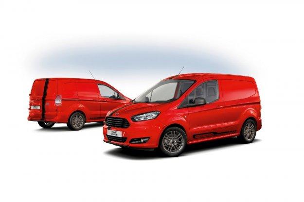Usportowione dostawcze samochody marki Ford