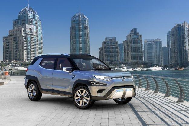 Nowy SUV koreańskiego SsangYong w Genewie