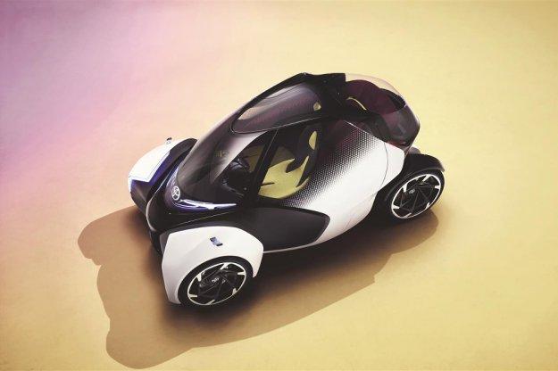Trochę inny miejski samochód koncepcyjny Toyota i-TRIL