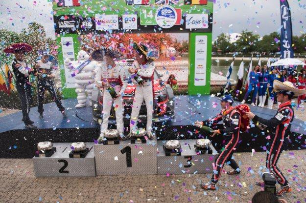 WRC Rajd Meksyku, brak klarownego leadera
