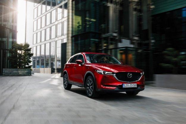 Cena za odświeżony model Mazda CX-5 zaczyna się od 95 900 zł