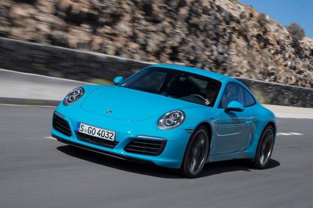 Porsche 911 Carrara S z większą mocą