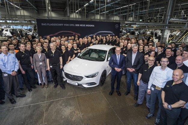 Nowa Opel Insignia w produkcji