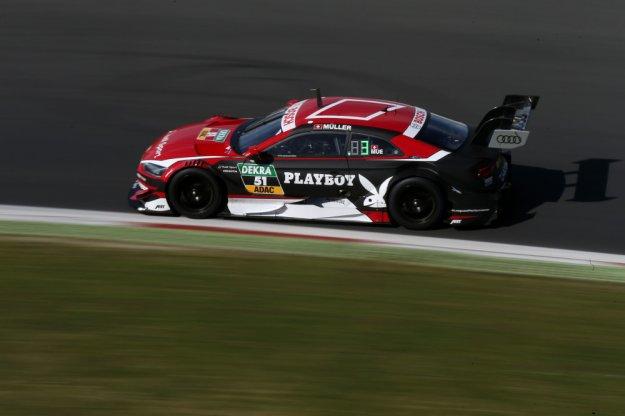Audi RS5 DTM tydzień po premierze na torze wyścigowym