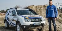 www.moj-samochod.pl - Artykuďż˝ - Załogi Dacia Duster Elf Cup po pierwszym treningu