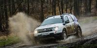 www.moj-samochod.pl - Artykuł - Deszczowy start Dacia Duster Elf Cup