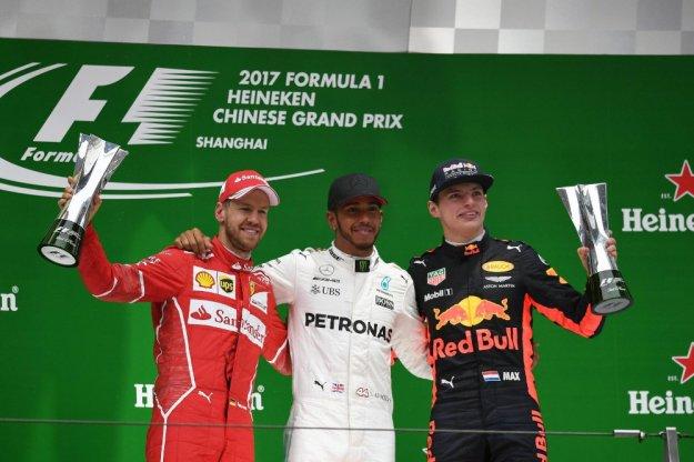 F1 Chiny, Hamilton tym razem nie oddał prowadzenia
