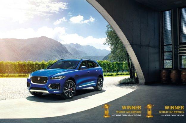 Jaguar F-Pace światowym samochodem roku 2017