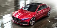 www.moj-samochod.pl - Artykuďż˝ - Concept A wizualizacja nowego kompaktowego sedana Mercedesa