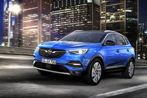 Opel prezentuje swój kompaktowy SUV Opel Grandland X
