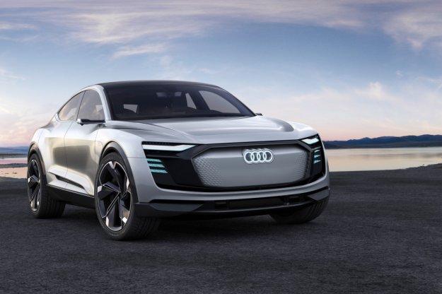 Już za dwa lata elektryczny Audi e-tron z zasięgiem 500 km