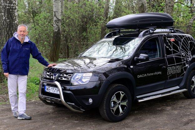 Dacia partnerem wyprawy na biegun południowy