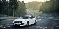 www.moj-samochod.pl - Artykuďż˝ - Honda Civic Type R z pierwszym rekordem