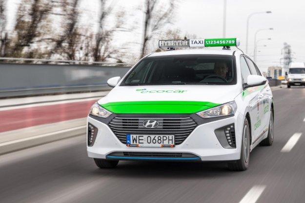 Hyundai IONIQ w roli ekologicznej taksówki