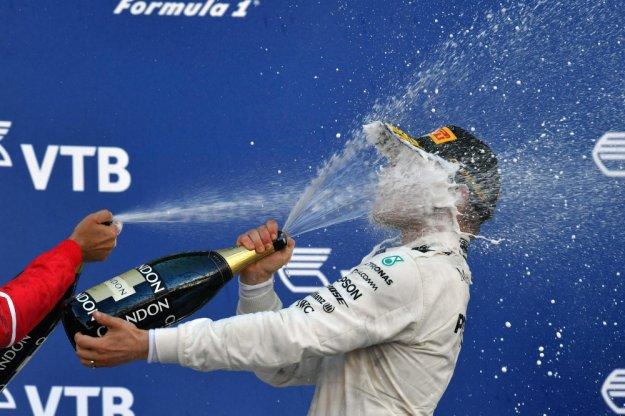 Veltteri Bottas ze swoją pierwszą wygraną w F1